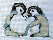 6077 2 Baby Penguins