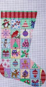 6644 Christmas Patchwork