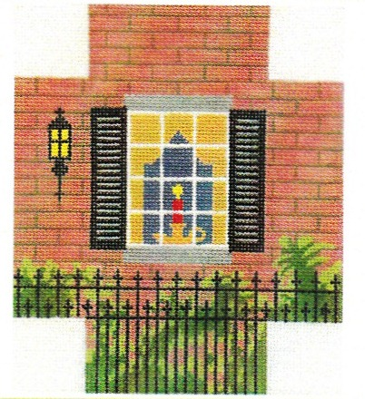 6787 Brick Window Scene