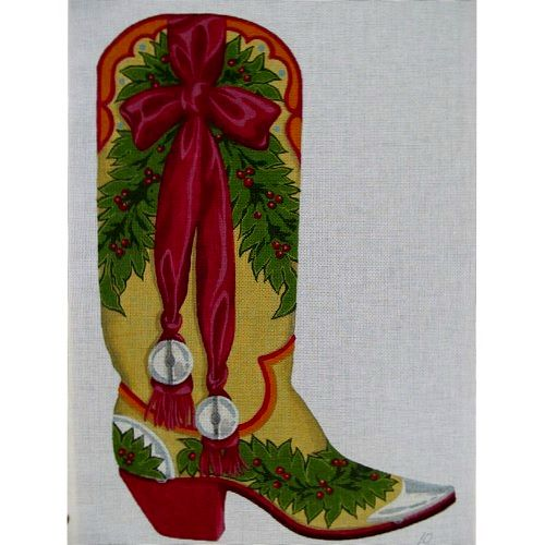 7090 Boot with Ribbon