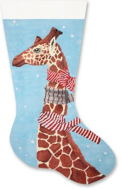 7249 Giraffe with Scarves