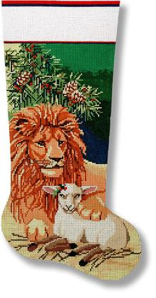 7268 Lion and Lamb