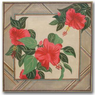 7262 Hibiscus Rectangle
