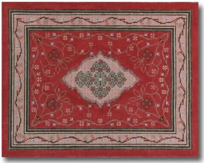7266 Persian Medallion - Rd Bkgnd