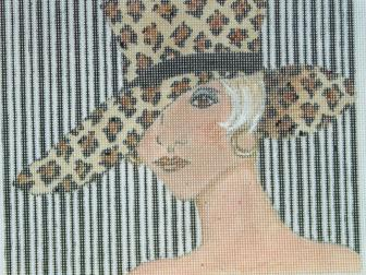 7331 Girl in the Leopard hat