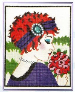 5748 Curly - Vogue Needlepoint