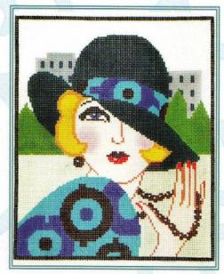 5749 Chic - Vogue Needlepoint