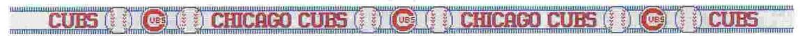 5657 Chicago Cubs - Needlepoint